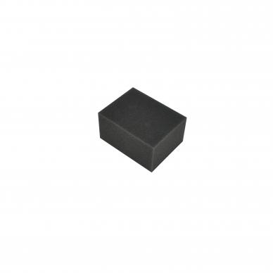 Kempinė automobilių salono poliravimui 9.6 x 7.5 x 5.0 cm JUODA (PROFI)