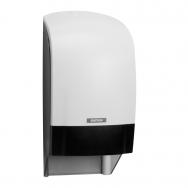 Laikiklis tualetiniam popieriui KATRIN INCLUSIVE SYSTEM TOILET DISPENSER, Baltas