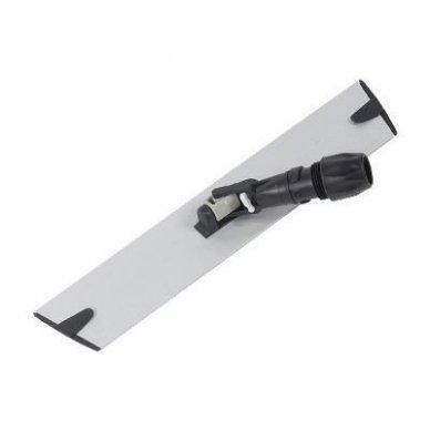 Laikiklis grindų šluostėms velcro DAN-MOP®, aliuminis 40 cm