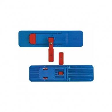 Laikiklis grindų šluostėms universalus sulenkiamas ARCORA  STANDARD, Mėlynas, 40 cm