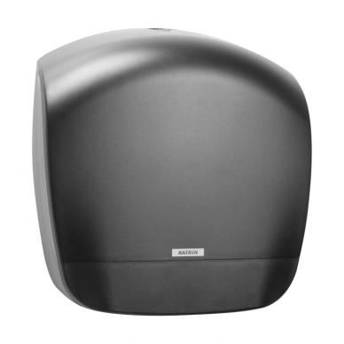 Laikiklis tualetiniam popieriui KATRIN INCLUSIVE GIGANT S DISPENSER, Juodas