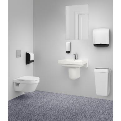 Laikiklis tualetiniam popieriui KATRIN INCLUSIVE SYSTEM TOILET DISPENSER, Baltas 3