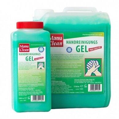 Rankų plovimo pasta-gelis žalias MANU CLEAN, 5 L
