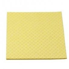 Pašluostė-kempinė MEIKO 25x31 cm, Geltona