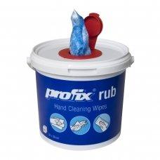 Pašluostės neaustinės medžiagos PROFIX RUB su abrazyvais, impregnuotos