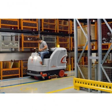 Grindų plovimo mašina COMAC ULTRA 100BS AS 3