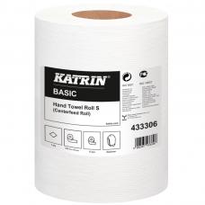 Popierius rankoms ritiniais KATRIN BASIC NATUR W100