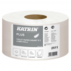 Tualetinis popierius ritiniais KATRIN PLUS GIGANT S2, 100 m