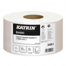 Tualetinis popierius ritiniais KATRIN BASIC GIGANT S