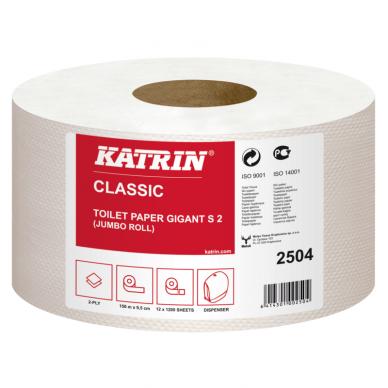 Tualetinis popierius ritiniais KATRIN CLASSIC GIGANT S2, 150 m