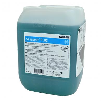 Plovimo-dezinfekavimo priemonė  Sekusept Plus, 6 L