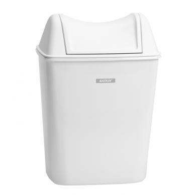 Šiukšlių dėžė higieniniams maišeliams KATRIN LADY HYGIENE BIN, Balta, talpa 8 L