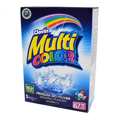 Skalbimo milteliai Multi Color, 5 kg