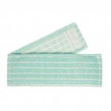 Grindų  medvilninė mikropluošto  šluostė  su kišenėmis 40 cm