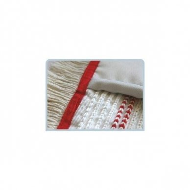 Grindų šluostė su kišenėmis ARCORA HOSPITAL QUATTRO, Raudona, 40 cm 2