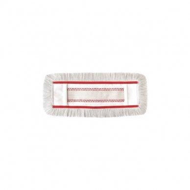 Grindų šluostė su kišenėmis ARCORA HOSPITAL QUATTRO, Raudona, 40 cm 4