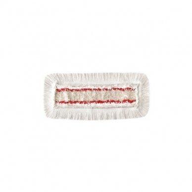 Grindų šluostė su kišenėmis ARCORA HOSPITAL QUATTRO, Raudona, 40 cm 5