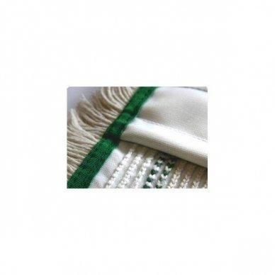 Grindų šluostėsu kišenėmis ARCORA HOSPITAL QUATTRO, Žalia, 40 cm 2
