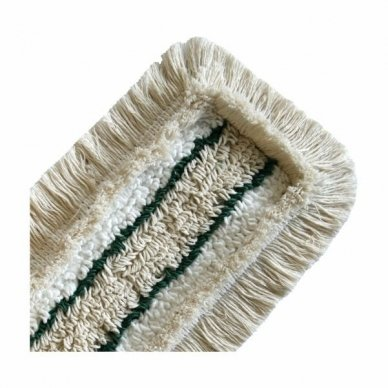 Grindų šluostėsu kišenėmis ARCORA HOSPITAL QUATTRO, Žalia, 40 cm