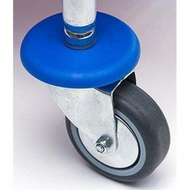 Vežimėlis chromuotas su presu  BASE 2x17 L 6